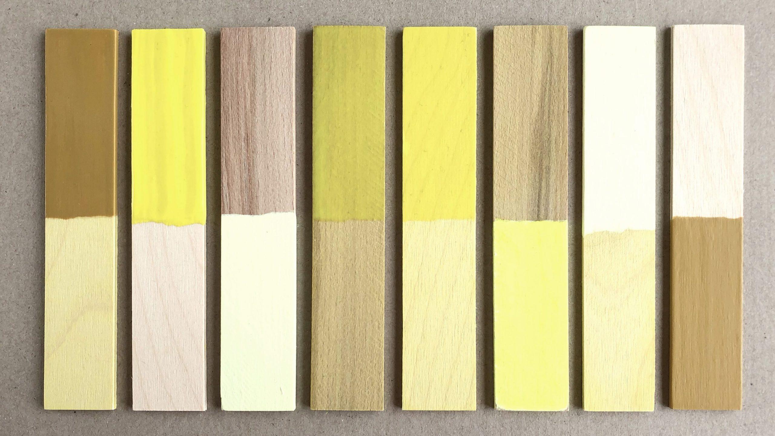 colour samples saturation