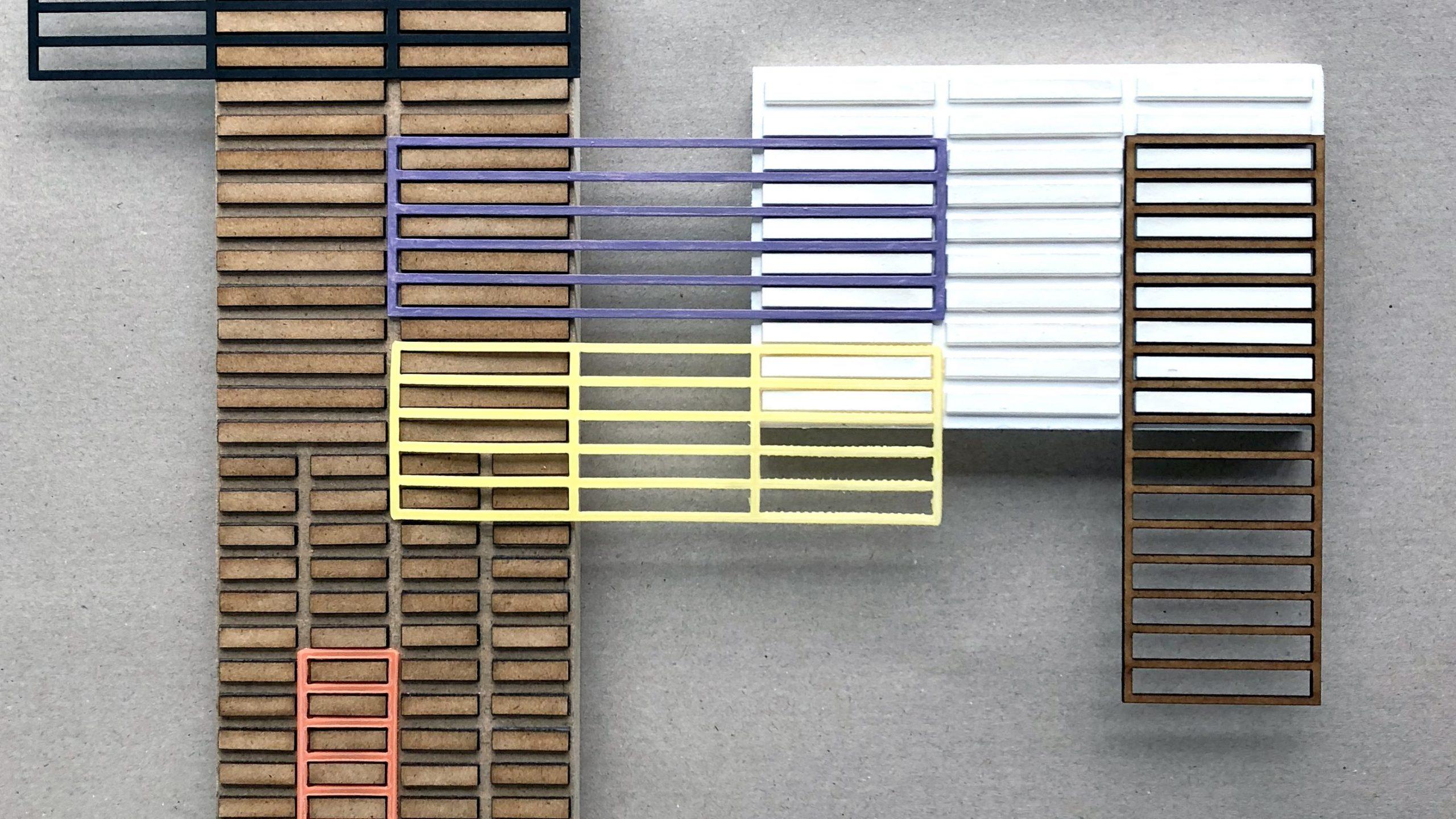 colour samples simultaneous contrast