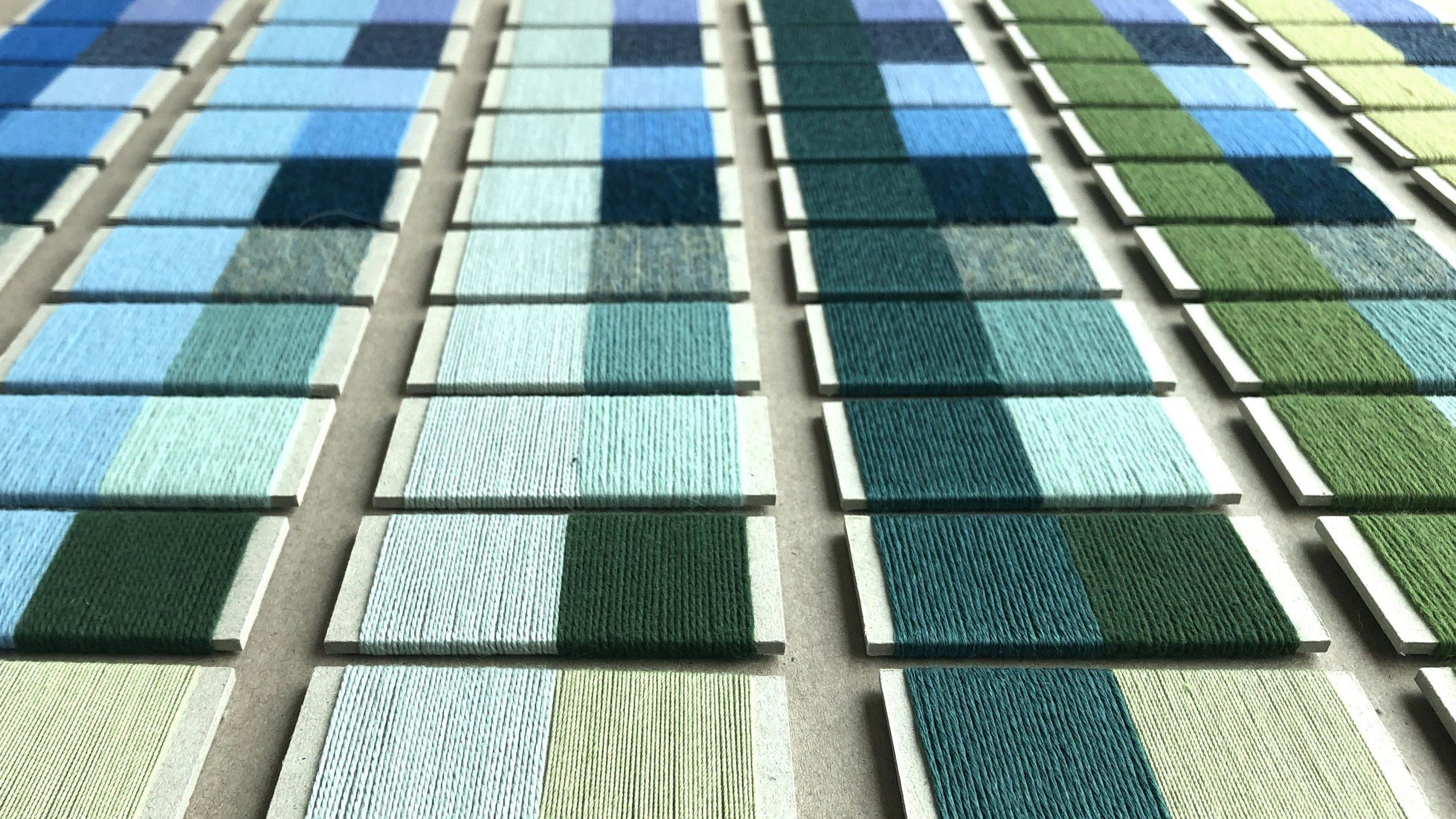 colour samples cold varm