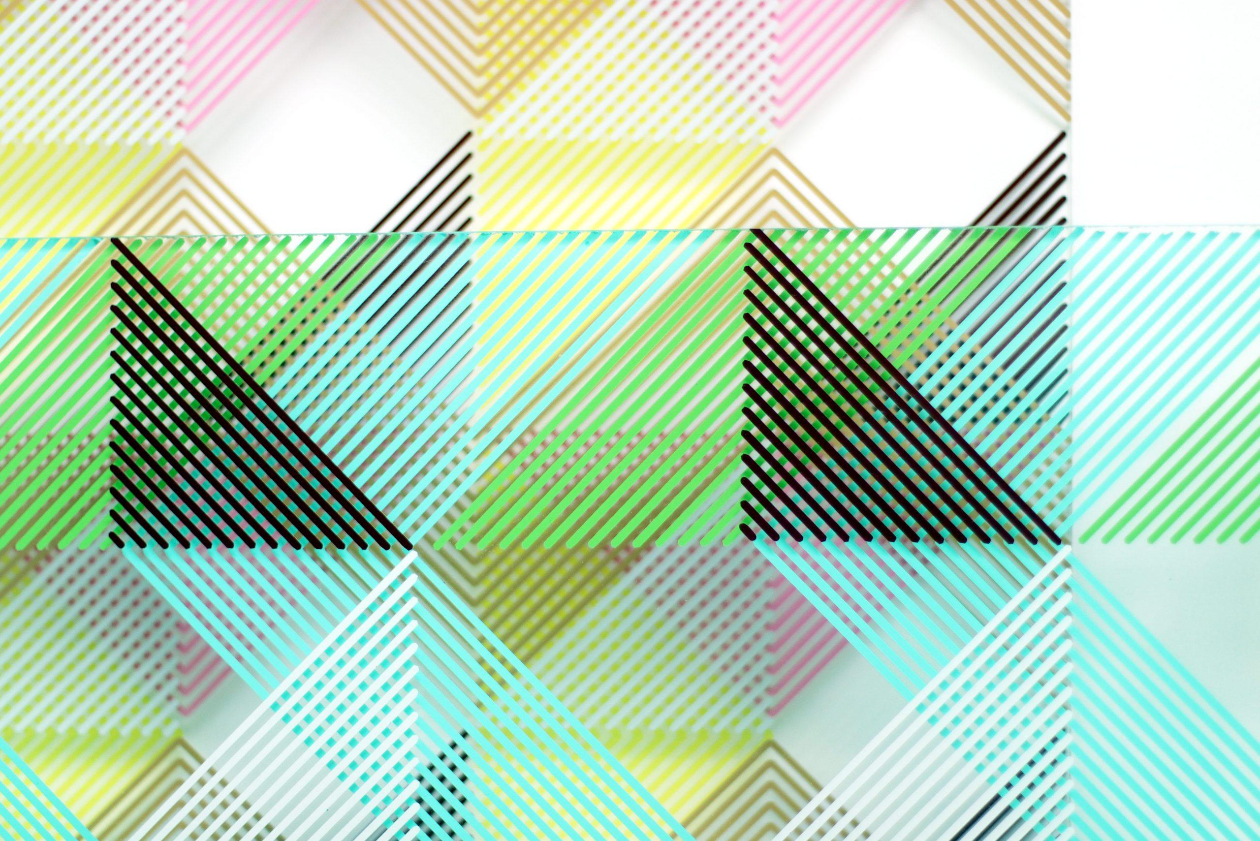 Rytmisk opstilling af filtre. Udsnit 1