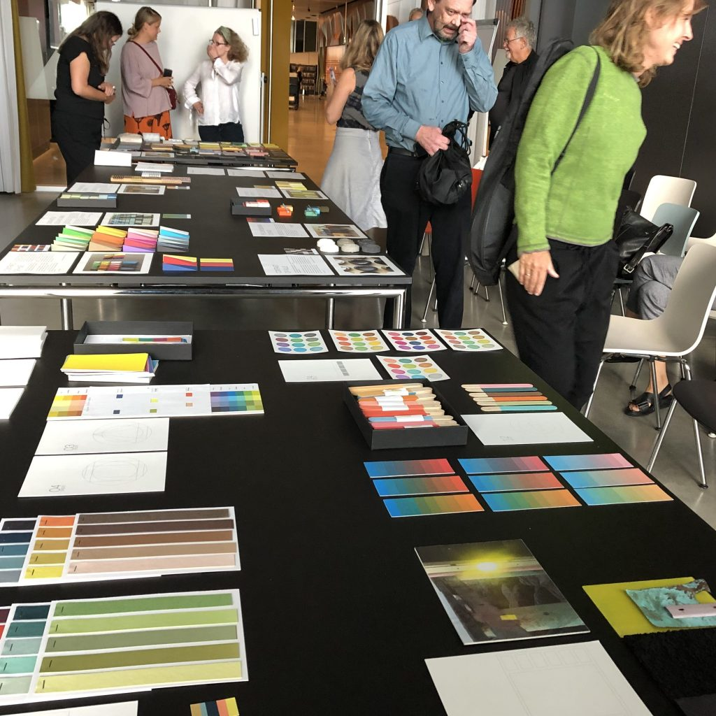 presenting colour projects